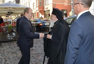 2013 09 05 Kohtumine välisminister Urmas Paetiga