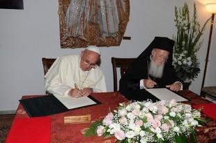 2014 05 25 Paavst ja patriarh