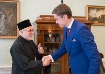 Metropoliit Stefanuse kohtumine peaminister Taavi Rõivasega 17.06.2014