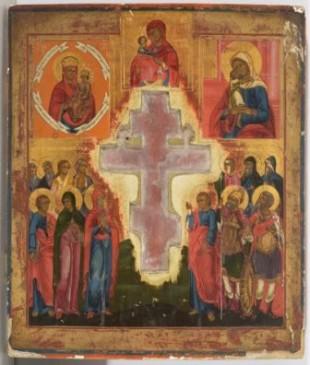IK 182 Kristuse Ristilöömine