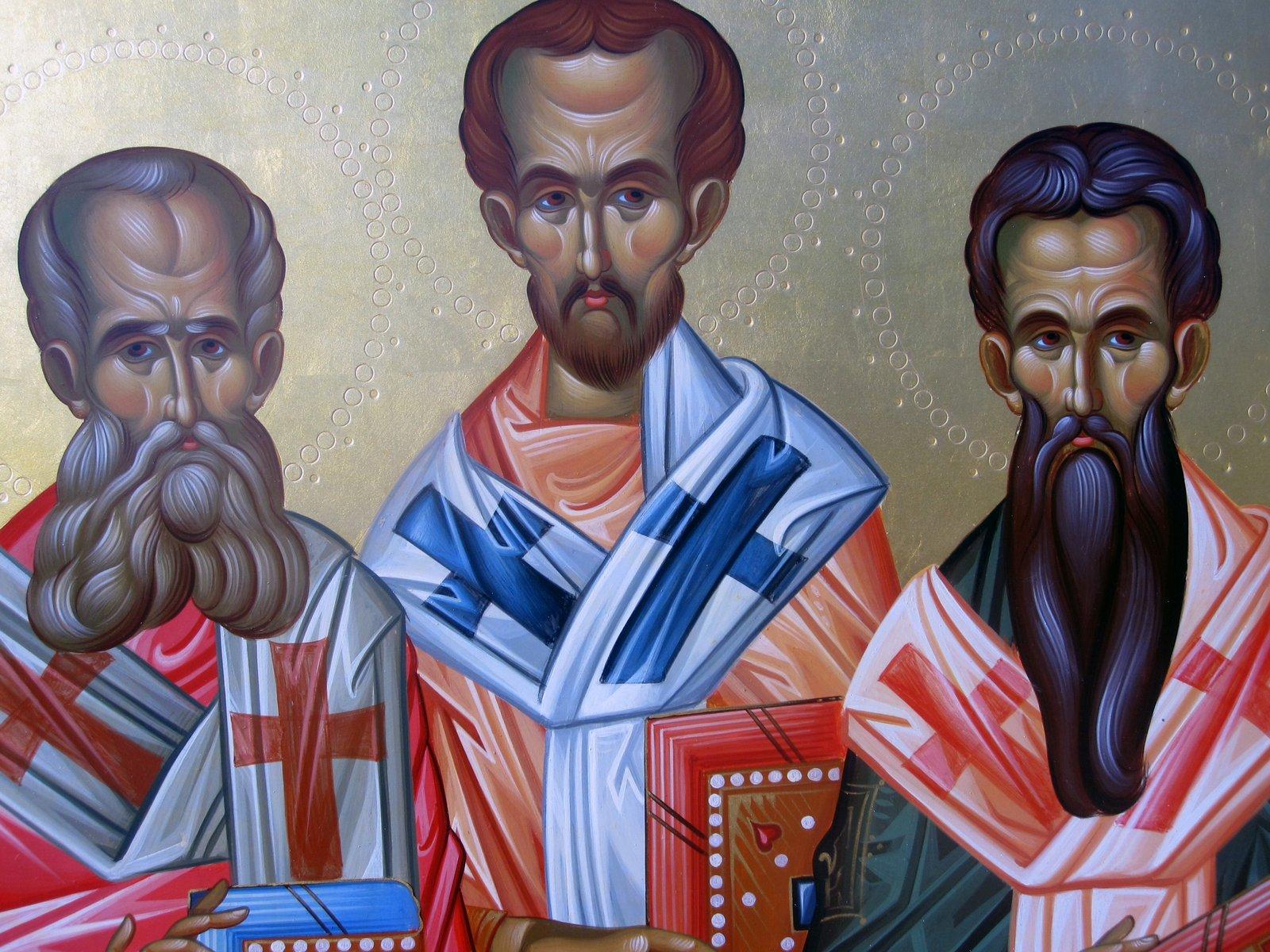 Tries Ierarxes Vasilios Gregorios Ioannis Face