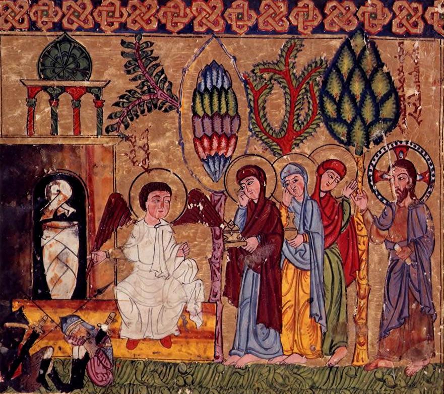 Les-femmes-Myrophores-Évangéliaire-syriaque