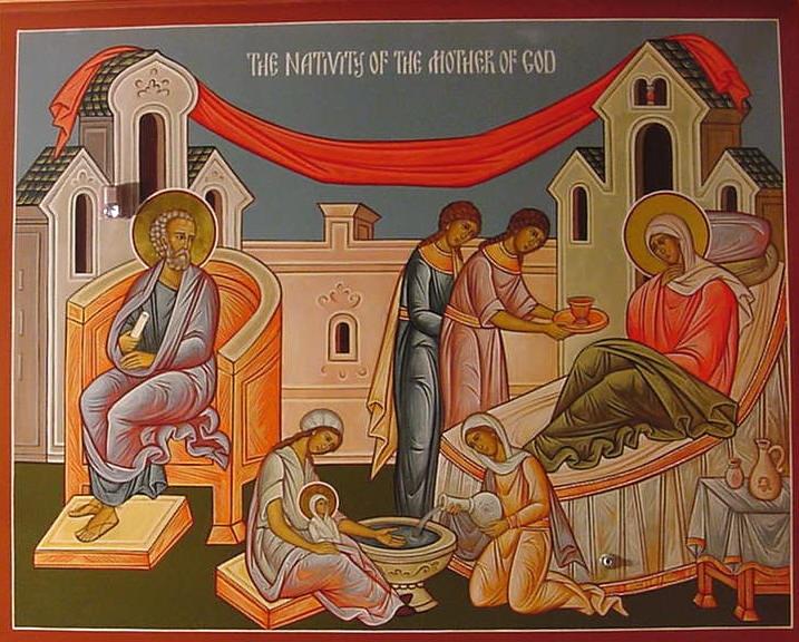 Jumalaema sündimine
