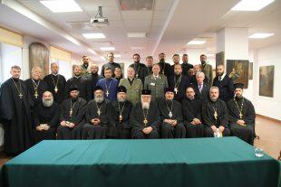 Vaimulike kohtumine Poola Õigeusu Kiriku pea metropoliit Sava'ga