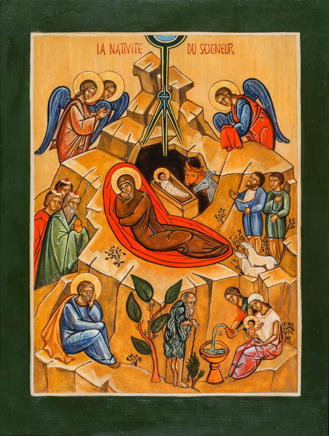Kristuse sündimine_ikoon